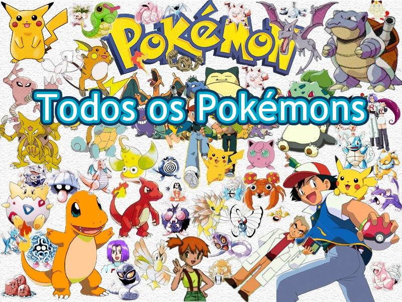 Todos os Pokémons