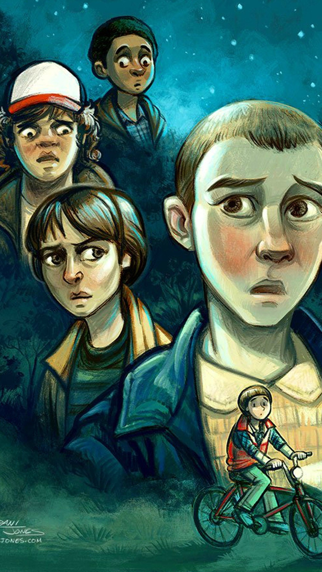 stranger-things-caricature-wallpaper-wallpaper-background