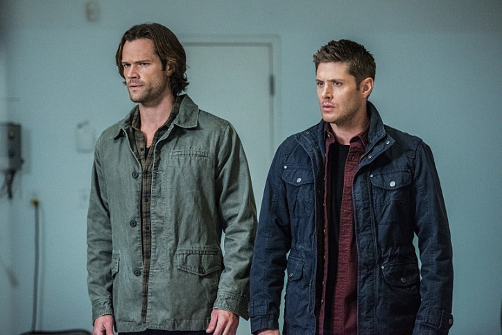 """Supernatural -- """"The One You've Been Waiting For"""" -- SN1205a_0243.jpg -- Pictured (L-R): Jared Padalecki as Sam and Jensen Ackles as Dean -- Photo: Dean Buscher/The CW -- © 2016 The CW Network, LLC. All Rights Reserved"""
