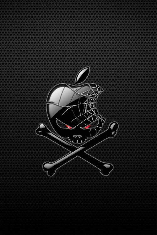 aad2b43f261a9624111bd8ac56f08aa8--skull-wallpaper-apple-logo