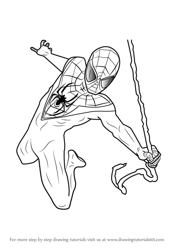 how-to-draw-Miles-Morales-from-Ultimate-Spider-Man-step-0