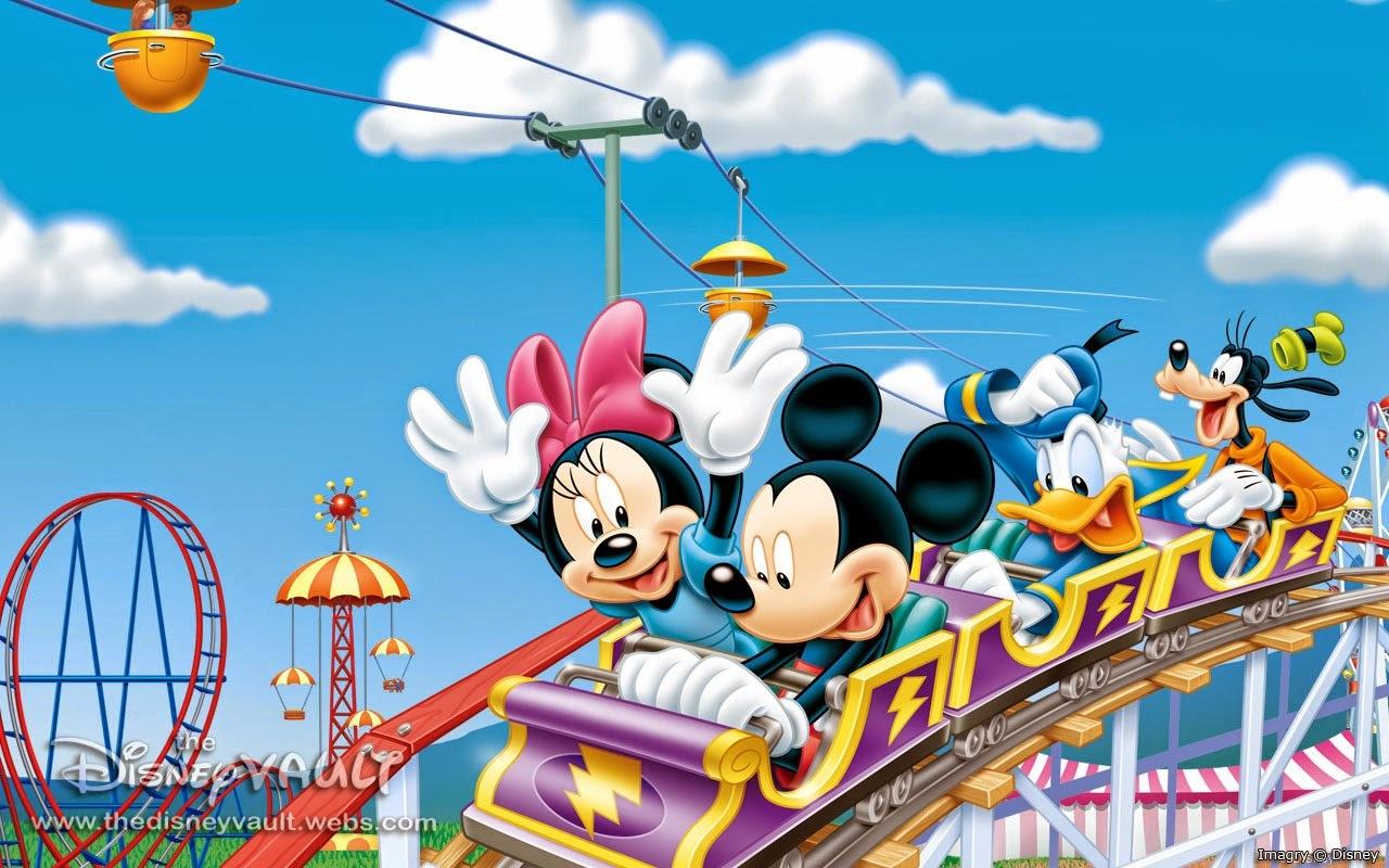 Wallpaper Minnie E Mickey De 100