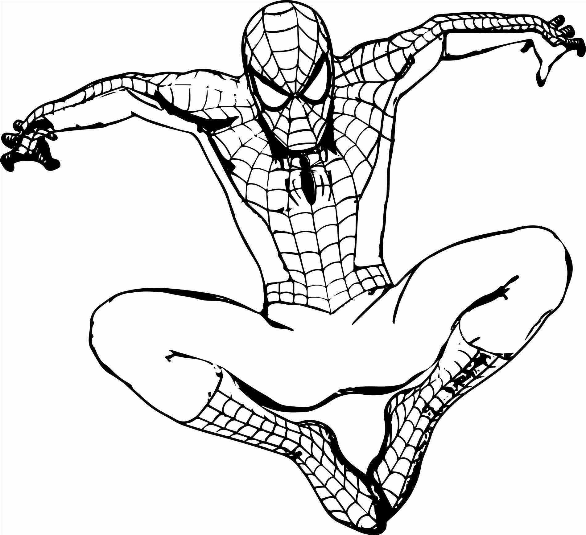page perfect spider man # perfect Spider Pictures To Color spider man color # coloring pages page blog spider Spider Pictures To