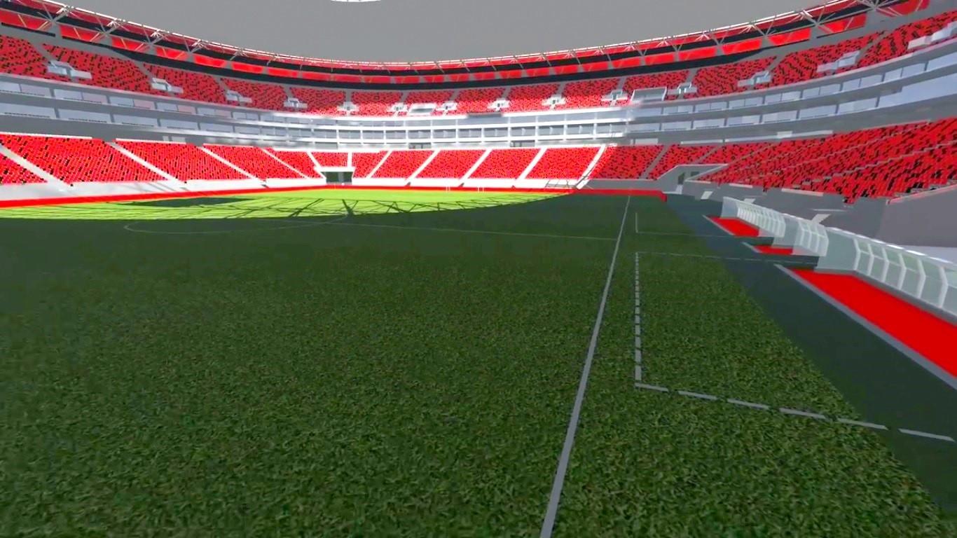 estadio flamengo arquibancada
