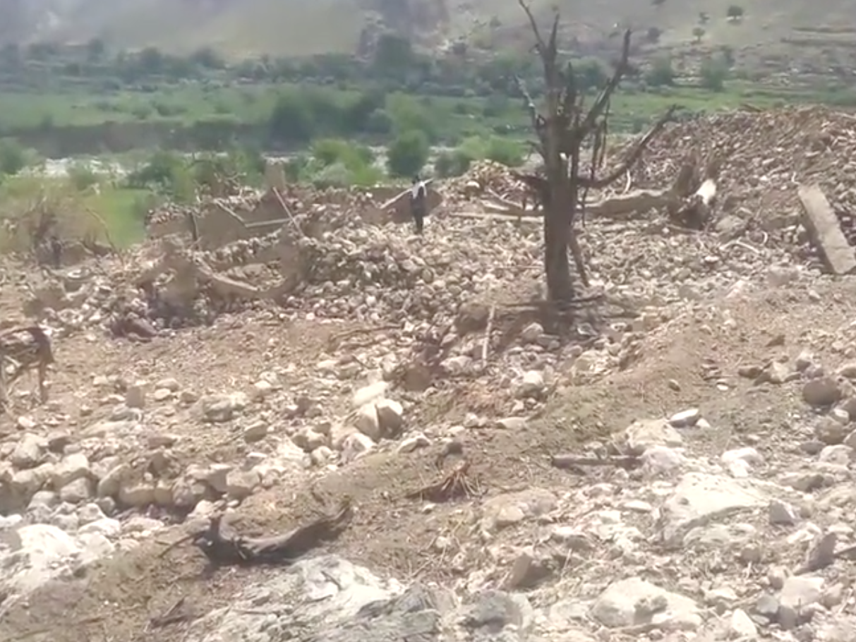 new-footage-shows-aftermath-of-moab-strike-in-afghanistan