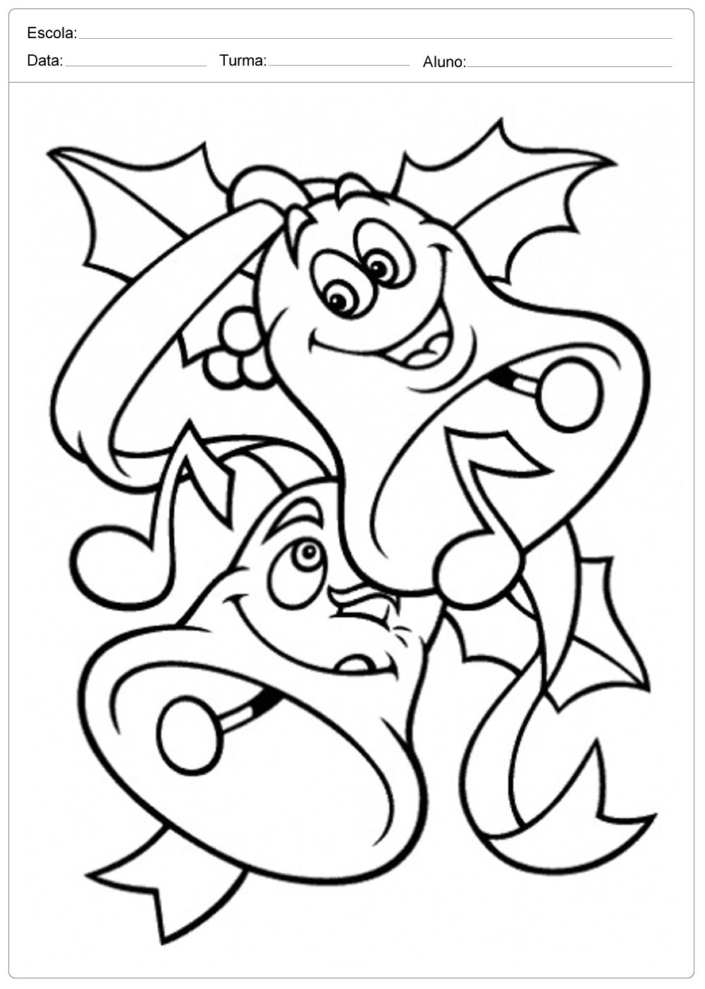 Desenhos De Sinos De Natal Para Colorir E Imprimir 5