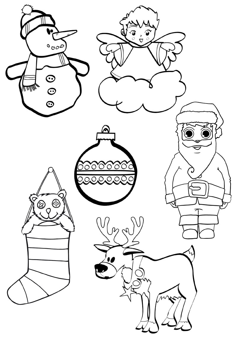 Desenhos Natal Colorir 9