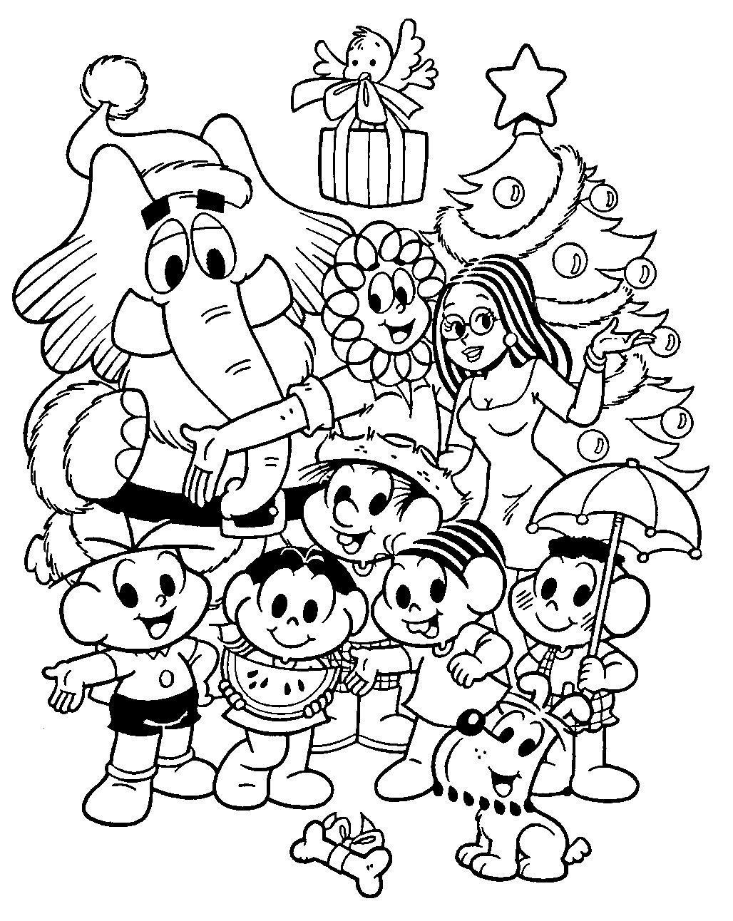 Feliz Natal Turma A Monica