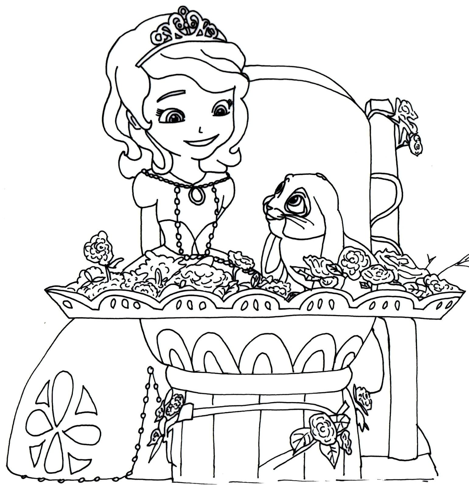 Princesa Sofia Colorir10