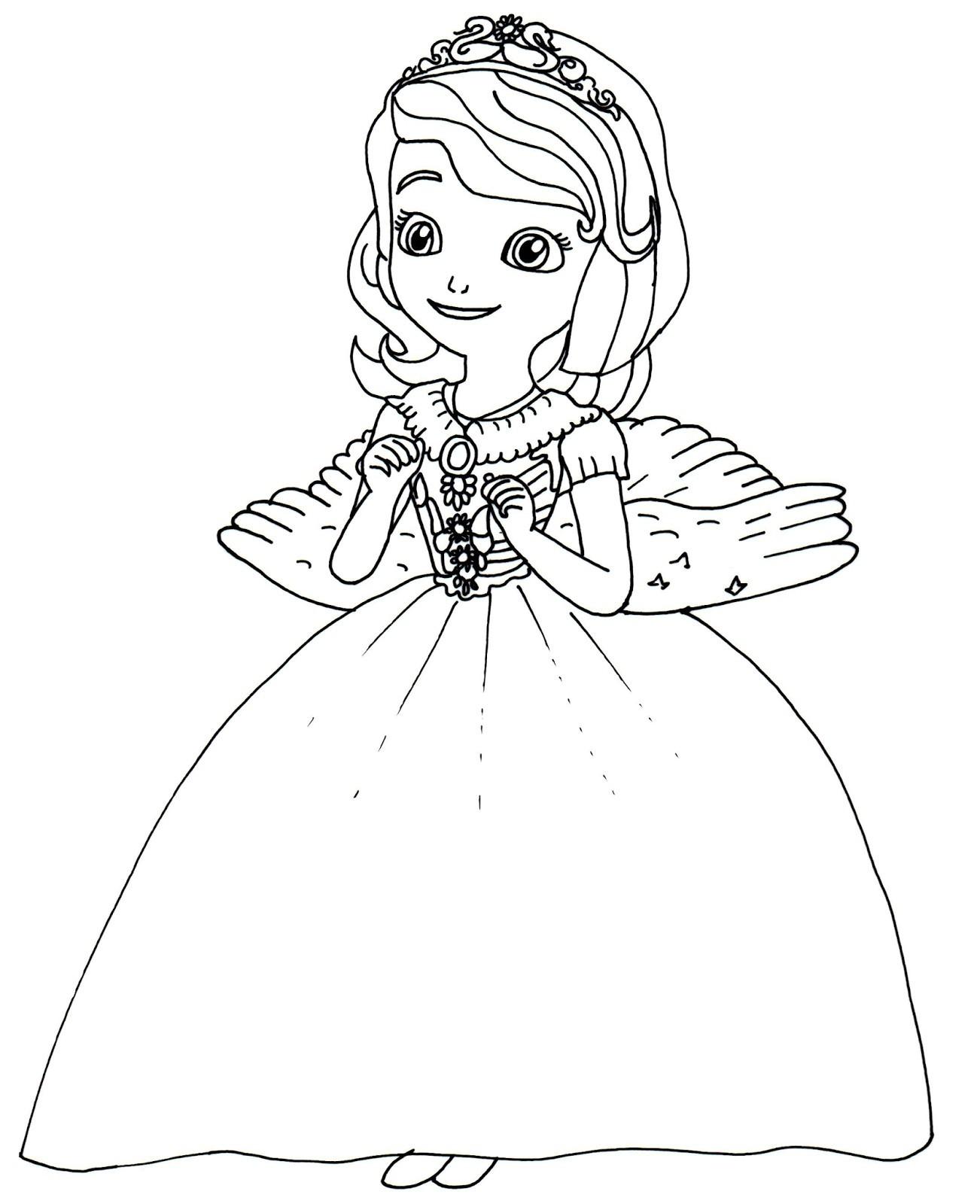 Princesa Sofia Colorir16