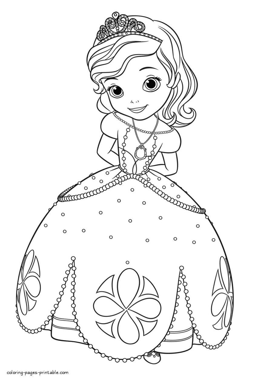 Princesa Sofia Colorir5